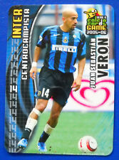 PANINI CALCIO CARDS GAME 2005-06 - N. 57 - JUAN SEBASTIAN VERON - INTER - new