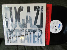 FUGAZI REPEATER DISCHORD LP Vinyl Record w/shrink discord RE RP version 8 rare!!