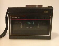Sanyo M-1130 Portable Compact Cassette Player Recorder