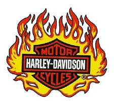 Harley Davidson Flammen Fenster Aufkleber 24x22 Flame Window Decal Windshield XL