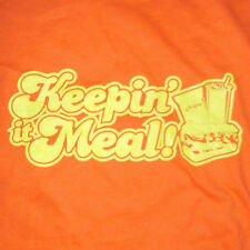 Subway Meal T-Shirt Large Sandwich Side Drink Retro 70's Employee Uniform
