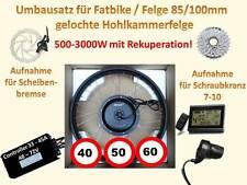 E-Bike Umbausatz Fatbike 500W 1000W 2000W 60km/h Ebike Bausatz MXUS