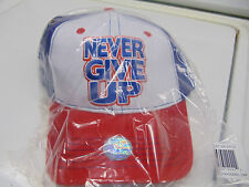 WWE AUTHENTIC John Cena Red, White, and Blue Baseball Cap Hat BRAND NEW