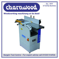 "CHARNWOOD W583 10"" X 7.5"" CAST IRON PLANER THICKNESSER"