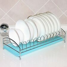 Newly Foldable Dish Dry Rack Dish Drainer Dryer Holder Rack Removable Tray Brand