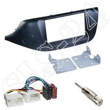 KIA CEED ab2012 Doppio Din Cornice Pannello Radio + CAVO ISO da auto Adattatore Antenna Set