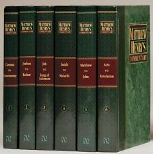 Matthew Henry's Commentary on the Whole Bible by Matthew Henry (2009, Hardcover)