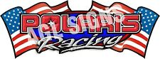 POLARIS USA RACING DECAL , sticker graphic