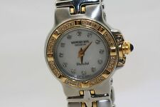 Raymond Weil Parsifal 9690 Watch Diamond Bezel Dial 18K Gold Stainless Two Tone