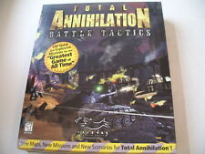 Total Annihilation  -  Battle Tactics  ADD ON  (PC)  Neuware    USK 18
