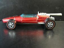 Vintage 1969 Hot Wheels Red Line Brabham Repco FI In NM/Mint Shape W/Badge