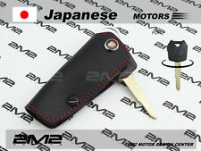 Leather key fob holder case chain cover FIT For KAWASAKI NINJA 1000 250R Versys