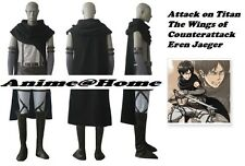 New Top Quality Attack on Titan The Wings of Counterattack Eren Costume Cosplay