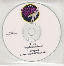(GU312) Pro-7, Dyslexic Disco - 2008 DJ CD