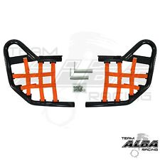 TRX 400EX 400X  Honda   Nerf Bars  Alba Racing     Black Orange    211 T1 BO
