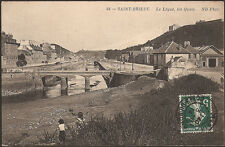 St BRIEUC (22) - Le Légué, les Quais