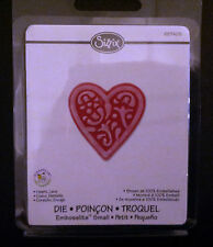 Sizzix Embosslits  HEART LACE Sizzlits fits Cuttlebug 657408