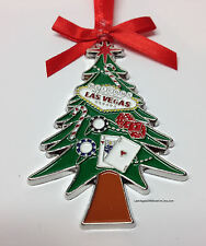 Welcome To Las Vegas Sign Christmas Tree Holiday Hanging Ornament Pine Dice