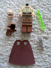 LEGO Star Wars - Rare - Qui Gon Jin w/ Lightsaber (Re-breather) From 9499 - New