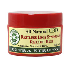 Cannabis Pure CBD Extra Strong Restless Legs Syndrome Relief Rub