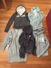 Lot Of 5 Hoodie Abercrombie Small S Xs Kirra Victorias Secret AE Preowned