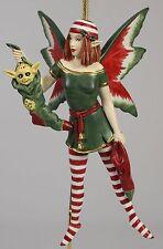 STOCKING DIVA FAIRY ORNAMENT Amy Brown Art NEW Fantasy Figurine Angel Christmas