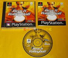 BEACH VOLLEYBALL Ps1 Versione Italiana 1ª Edizione ○○○○○ COMPLETO