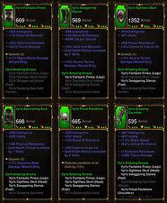 Diablo 3 RoS PS4 [SOFTCORE] - Vyr's Amazing Arcana Wizard Set [Ancient]