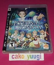 ETERNAL SONATA SONY PS3  VERSION US AMERICAINE EN TRES BON ETAT TEXTE FRANCAIS