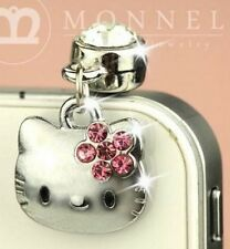 Cute Hello Kitty Phone Charm Plug Anti-Dust for 3.5 mm Earphone Jack