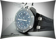 AUDEMARS PIGUET ROYAL OAK OFFSHORE FORGED CARBON CERAMIC - NEW MODEL