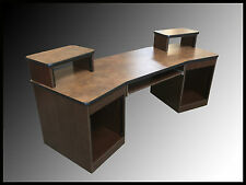 Recording Studio Desk (Chocolate Pearwood Finish)