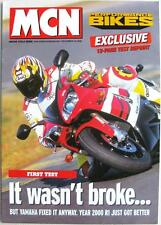 YAMAHA YZF-R1 - Motorcycle Road Test - 1999 - Reprint from Motor Cycle News