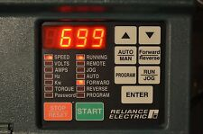 RELIANCE ELECTRIC GV3000 ~ SE ~ Vector ~  2 HP 2V4160 VER. 6.01 AC DRIVE
