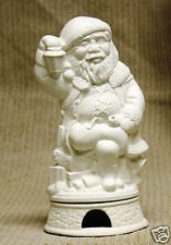 Ceramic Bisque Santa Incense Smoker Doc Holliday Mold 1368 U-Paint Reay To Paint