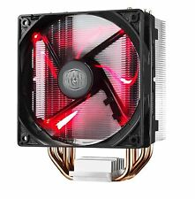 Cooler Master Hyper 212 LED CPU Cooler, 4x Heatpipes, 120mm Fan, Intel/AMD, Red