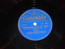 Sir THOMAS BEECHAM - Symphony No 5 In B Flat Major - Columbia 78 Record
