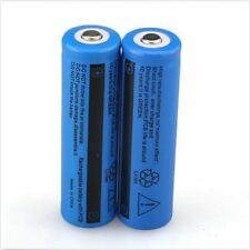 2pc UltraFire 18650 3.7v Li-ion BRC Rechargeable Battery For Flashlight LED Plug