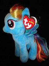 TY BEANIE -RAINBOW DASH - MY LITTLE PONY  SOFT PLUSH TOY - 7 INCHES ( 18CM)