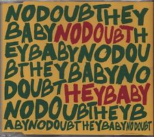 NO DOUBT - Hey baby - CDs SINGLE 2001 COME NUOVO UNPLAYED 4 TRACKS