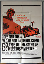 Cinema Poster: PLAGUE OF THE ZOMBIES 1966 (Spanish One Sheet) André Morell