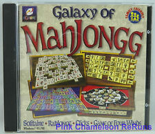 Galaxy of Mahjongg The Ultimate Mahjongg Collection PC Game Win 95 / 98