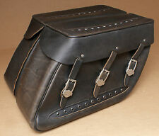 HARLEY ORIGINAL SATTELTASCHE SADDLEBAG SIDE CASES PACKTASCHE TOURING ROAD KING