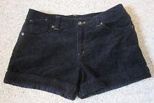 Nissen Japan Corduroy Cotton Shorts Black Women Ladies junior boa fur trim pants