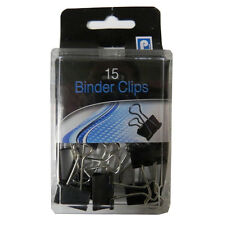 Metal Binder Clips - Box of 15, by Pennine
