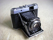 Certo Six (6) 120 Film Folding Rangefinder Camera + Tempor, Tessar 2.8/80 Red T