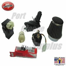 Performance GY6 50cc 150cc Tune up 38mm Air Filter Plug CDI Coil Solenoid Filter