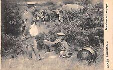 BR64811 armee anglaise telephone de campagne   army military militaria england