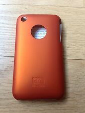 Case-mate Orange Barely There Hard Case Cover & LCD Protector for iPhone 3G 3GS