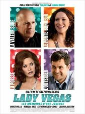 Affiche Pliée 40x60cm LADY VEGAS… (2012) Bruce Willis, Rebecca Hall TBE